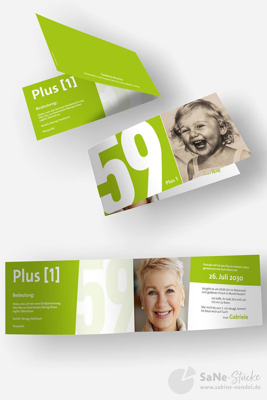 Einladung-60-Geburtstag-Plus-Gruen