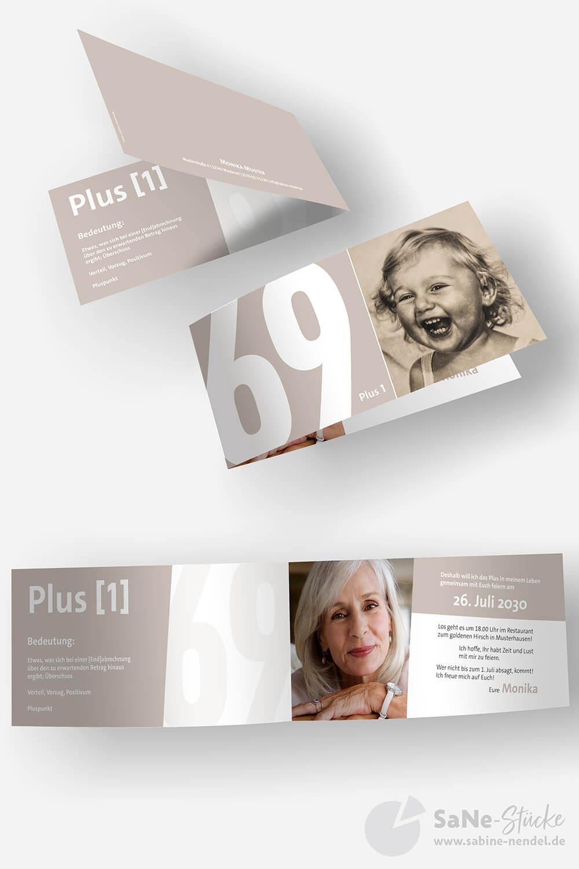 Einladung-70-Geburtstag-Plus-Braun