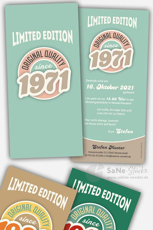 Einladungskarten-50-Geburtstag-Retro-1971