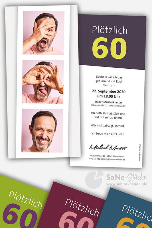 Einladungskarten-60-Geburtstag-Foto