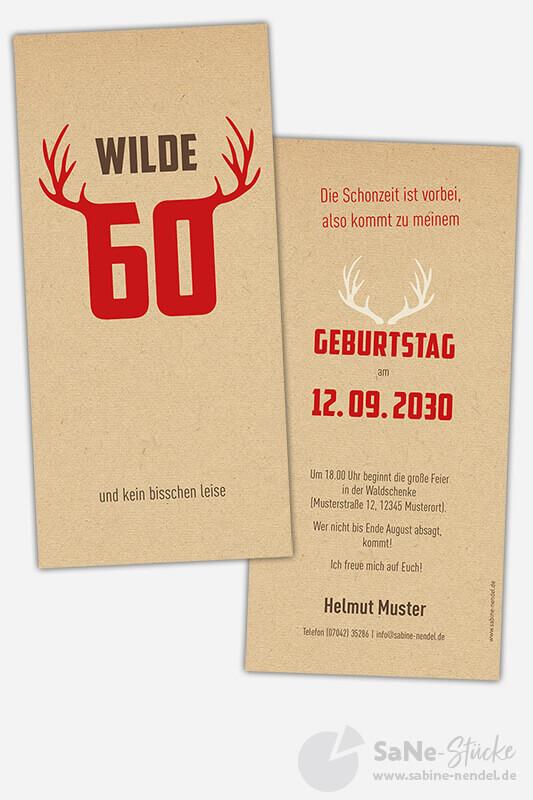 Einladungskarten-60-Geburtstag-Jaeger-rot