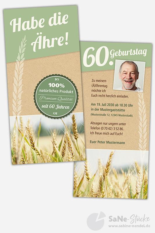 Einladungskarten-60-Geburtstag-Landwirt-Foto