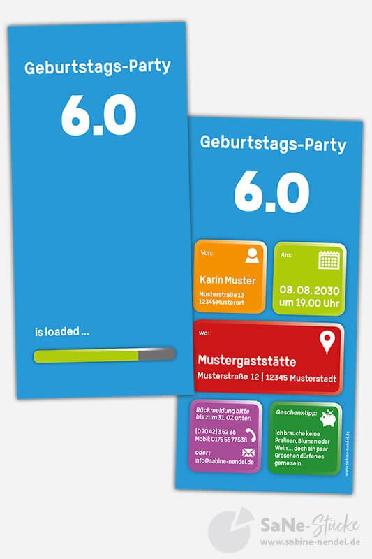 Einladungskarten-60-Geburtstag-Party-blau