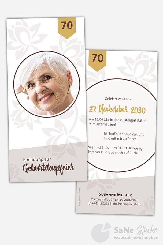 Einladungskarten-70-Geburtstag-Blumen