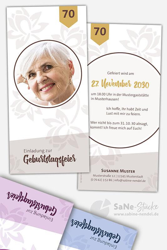Einladungskarten-70-Geburtstag-Frau