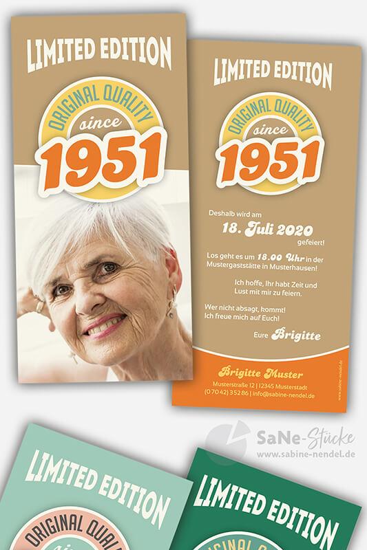 Einladungskarten-70-Geburtstag-Retro-1951