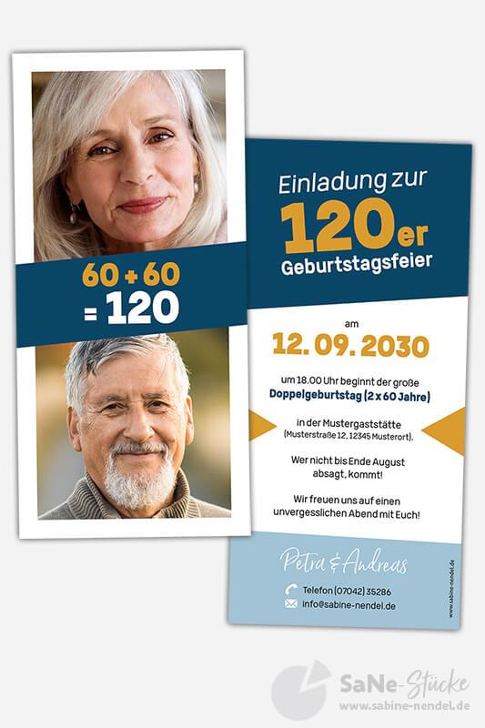 Einladungskarten-Doppelgeburtstag-2x60-Blau