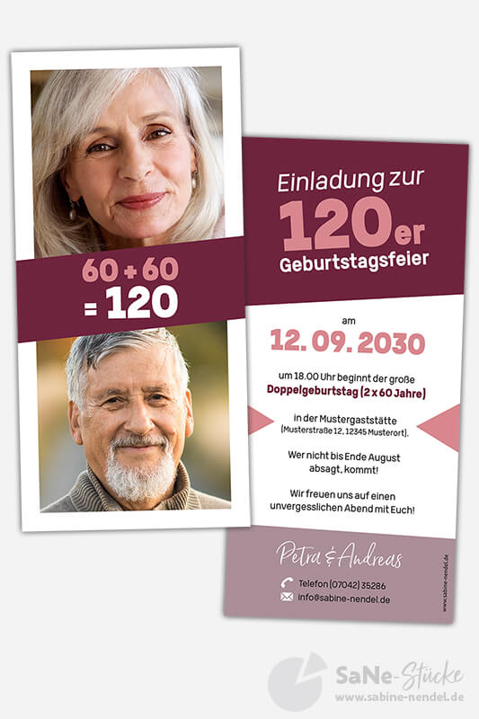 Einladungskarten-Doppelgeburtstag-2x60-Rot