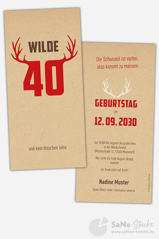 Einladungskarten-Geburtstag-Jaeger-40-rot