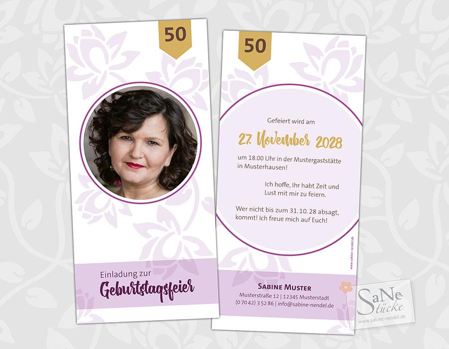 SaNe_Stuecke_Einladungskarte_Geburtstag_Floral_weiss6