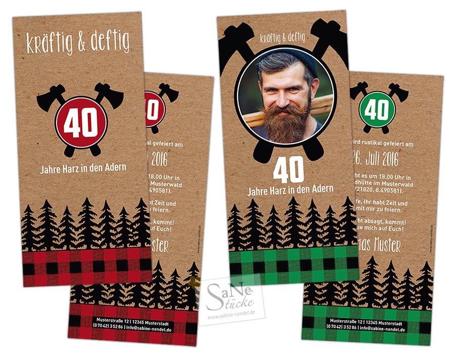 SaNe_Stuecke_Einladungskarte_Geburtstag_Lumberjack_beide_hp