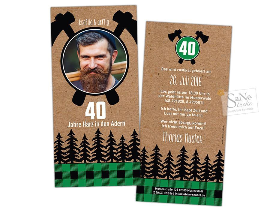 SaNe_Stuecke_Einladungskarte_Geburtstag_Lumberjack_gruen9