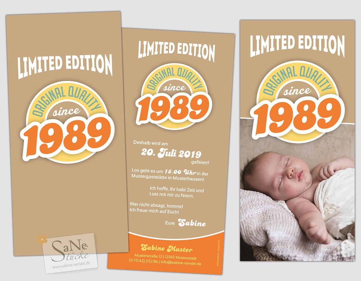 Version 1989 in Braun