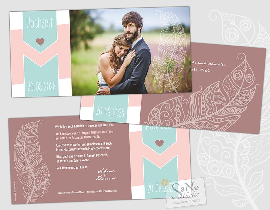 SaNe_Stuecke_Einladungskarte_Hochzeit_Feder_ws