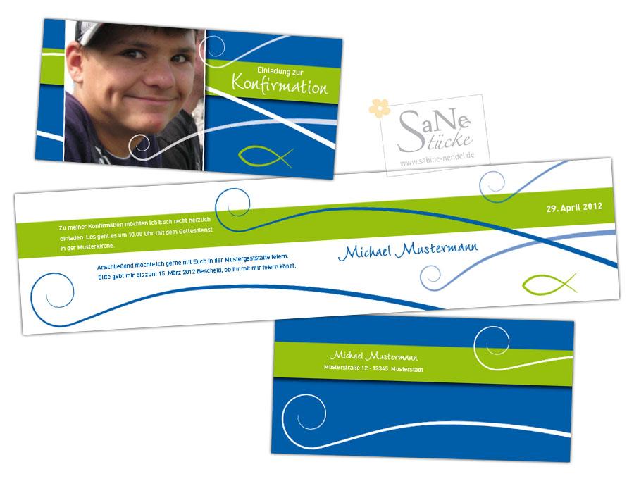 SaNe_Stuecke_Einladungskarte_Konfirmation_Fische