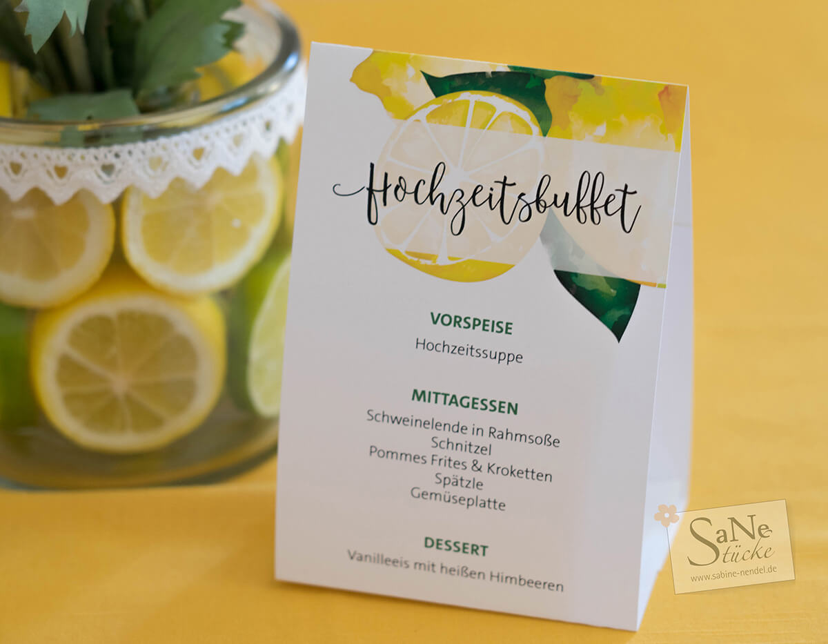 SaNe_Stuecke_Menuekarten_Hochzeit_Zitronen_Deko_ws